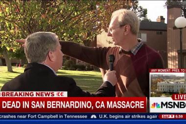 San Bernardino resident witnessed response