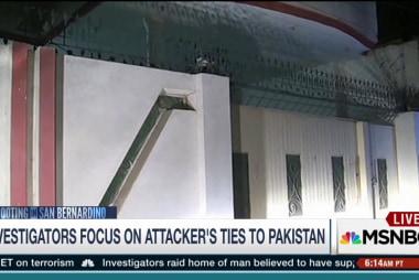 San Bernardino suspect's ties to Pakistan...