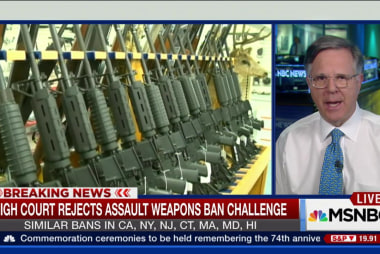 High Court rejects assault weapons ban...