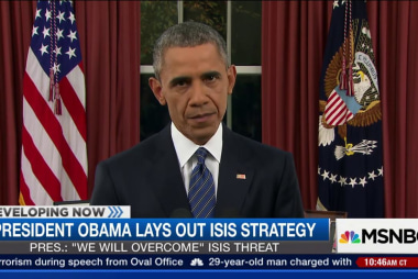 Obama: 'We will overcome' ISIS threat