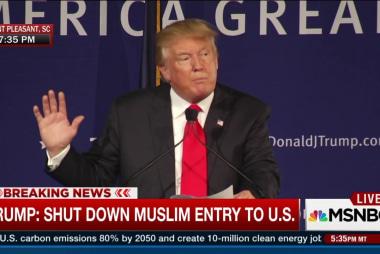 Trump: Shut down Muslim entry to US