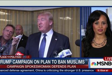 Trump defends call to ban Muslims entering US