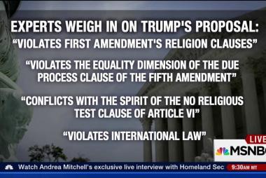 Trump's Muslim ban proposal: Is it legal?