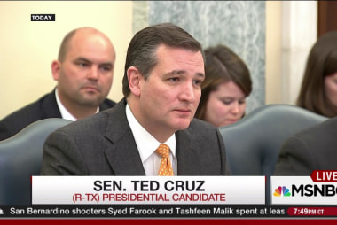 Ted Cruz's hearing on climate change
