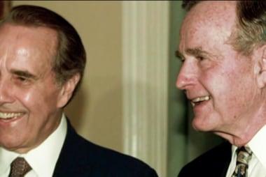 Sen. Dole: I have great respect Bush 41