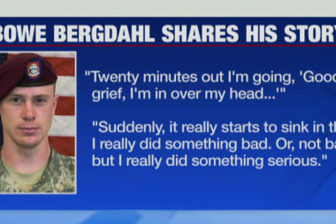Bowe Bergdahl speaks publicly for the...