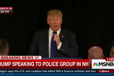 Trump endorsed by New Hampshire police...