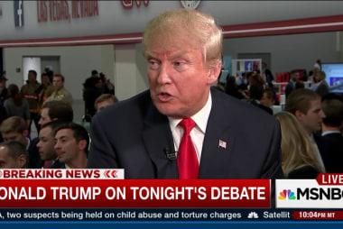 Trump talks war, Republicans, and building