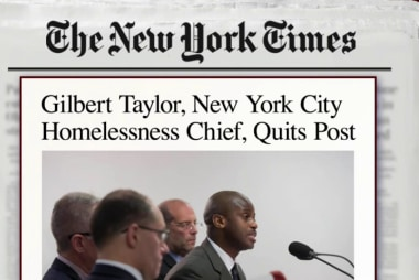 Barnicle: Homeless could cost NYC mayor a...