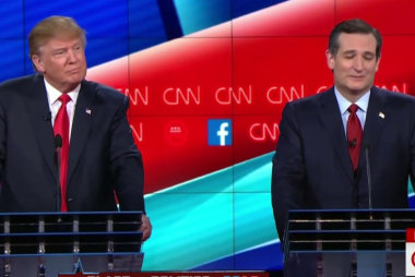 Trump and Cruz remain friendly in fifth...
