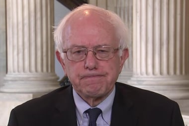 Sanders reacts to Trump's Muslim ban