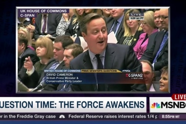 'Star Wars' mania hits the British Parliament