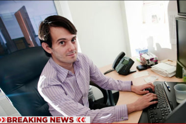 FBI agents arrest CEO Martin Shkreli in NYC