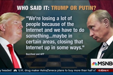 Putin: Trump is bright, talented person