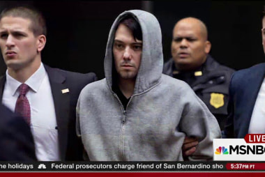 Federal charges for 'Pharma Bro'