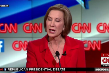 Carly Fiorina caught in debate lie