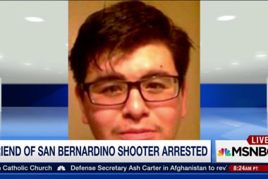 Friend of San Bernardino shooter charged