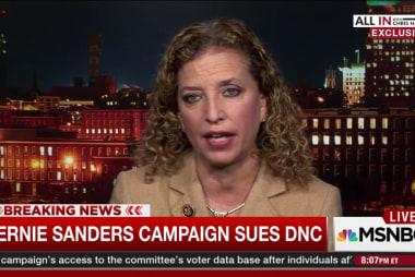Wasserman Schultz: Sanders lawsuit 'baffling'