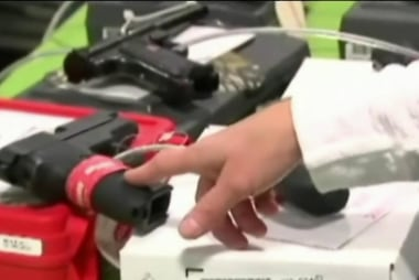 Gun sales surge during holiday season