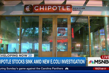 Chipotle stocks sink amid new E.coli...