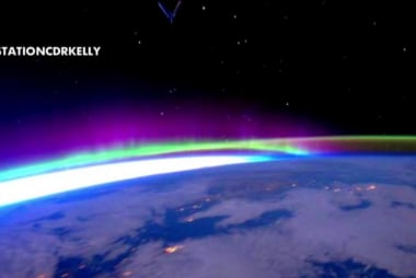 Captain Mark Kelly talks space travel