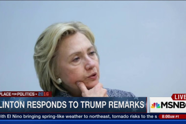 Hillary Clinton: Trump has no boundaries
