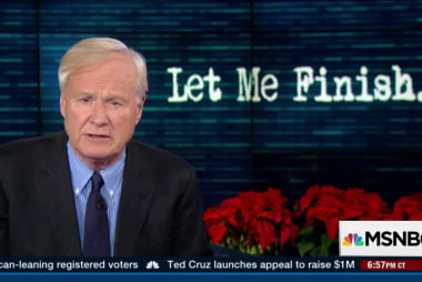 Matthews' thoughts on 2015 politics
