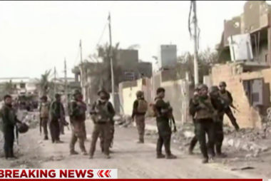 Iraqi security forces secure landmark victory