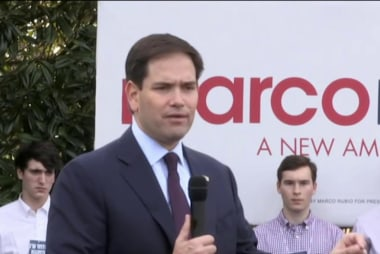 The Marco Rubio strategy for the White House
