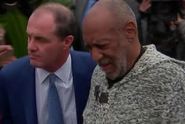 Bill Cosby in court for arraignment