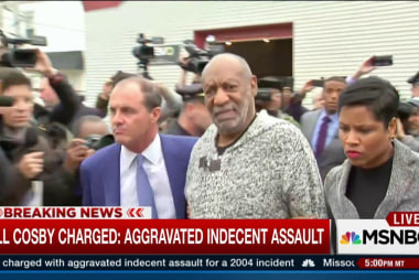 Cosby charged with assault in PA