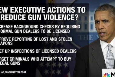 President to announce new action on guns