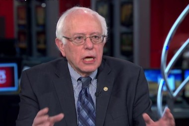 Sanders forces the issue on Wall Street
