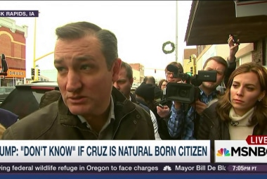 Why Cruz's WH eligibility is not settled law