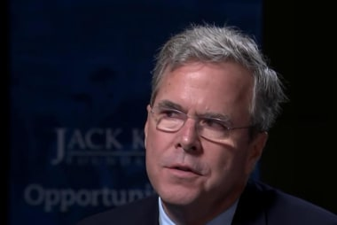 Bush: People are frustrated and for good...