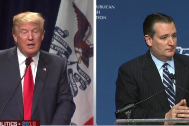 Is Cruz upsetting GOP more than Trump?