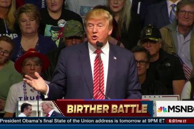Trump, Cruz in battle of the birthers