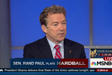 Paul: I'm the loudest voice in the GOP