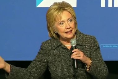 Potential voters feeling Clinton fatigue:...