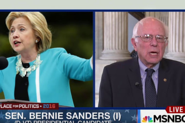 Sen. Bernie Sanders one-on-one with MSNBC