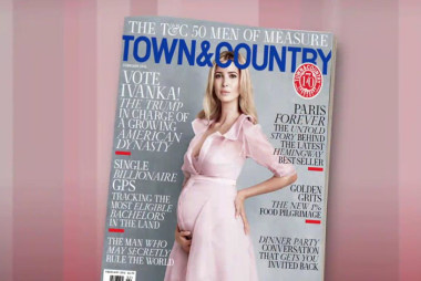 Trump's daughter profiled in 'Town & Country'