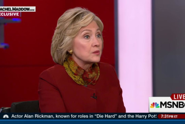 Clinton on Sanders: We don't get personal