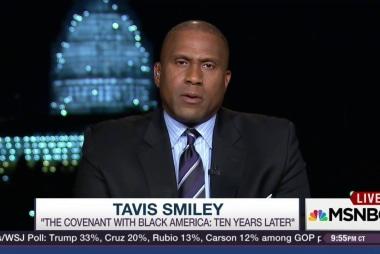 Tavis Smiley condemns 'Trump's xenophobia'