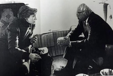 Clinton and Sanders' war of words over...
