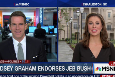 Lindsey Graham endorses Jeb Bush