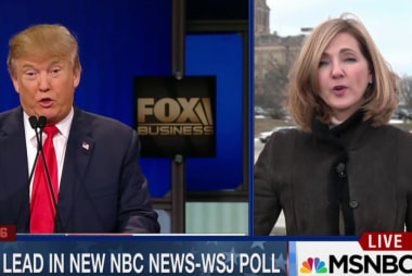 Trump increases lead in new NBC News-WSJ poll