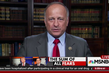 Rep. Steve King on 'New York values'