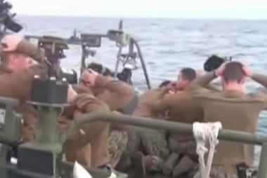 How did U.S. sailors end up in Iranian...