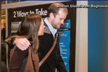Freed prisoner arrives home in Massachusetts