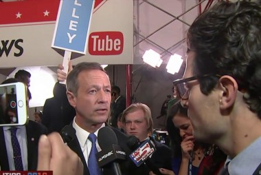 O'Malley hopes to shake things up in Iowa